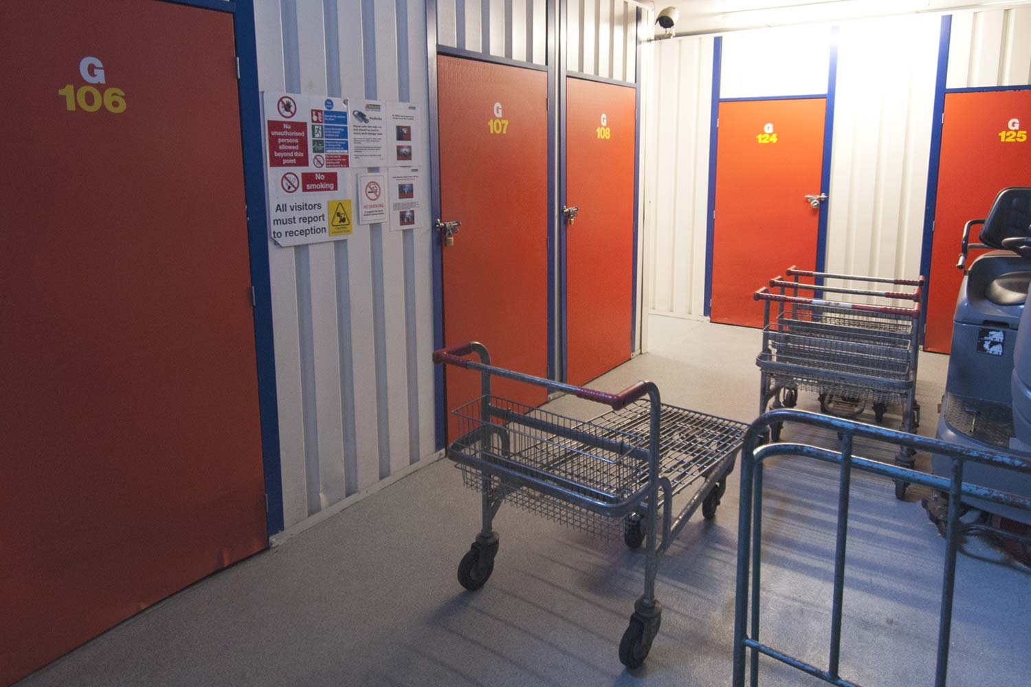 Business Storage Rooms