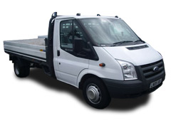 Ford Transit 3.5 Tonne GVW Dropside Flatbed Pick Up